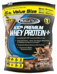 Muscletech 100% Premium Whey Protein hilft beim Aufbau und Reparatur der Muskulatur.