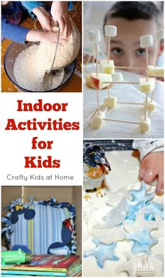 Too wet to play outside? Need to cool off on a hot day? You or your child is feeling unwell? We have pulled together a list of the BEST Indoor Activities for kids to help you out and keep your kids away from their screens for a while.