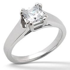 solitaire engagement rings | Sleek, Stylish And Gorgeous: Solitaire Diamond Engagement Rings