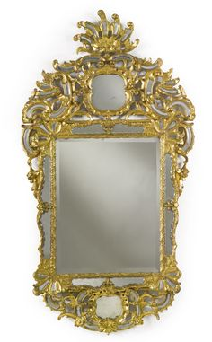 An Austrian Rococo giltwood mirror possibly Bohemia, second half 18th century. Sotheby's