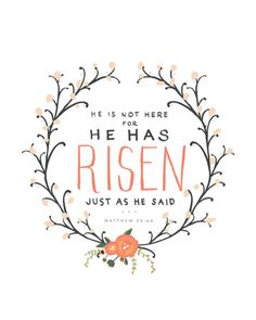 He has Risen // delta-breezes: She Reads Truth