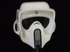 star wars BIKER SCOUT HELMET by NEWIMAGE58 on Etsy, £249.99