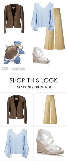 """009 - Blastoise"" by ladynightmare ❤ liked on Polyvore featuring Mauro Grifoni, Isabel Marant and Dondup"