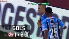 Gols - Lanús (ARG) 1 x 2 Grêmio - Final Libertadores 2017 - Globo HD 60fps