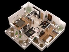 Fiverr freelancer will provide Architecture & Interior Design services and create architecture floor plans, floor plan floor plan including Source File within 1 day 3d House Plans, Model House Plan, House Layout Plans, House Layouts, House 3d Model, Apartment Layout, Apartment Plans, Home Design Plans, 3d Design