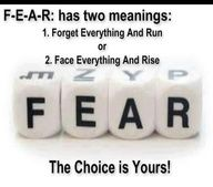 Second Chance to Dream: { Fear is a Liar }