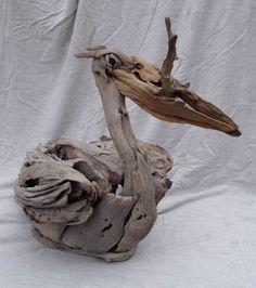 driftwood pelican