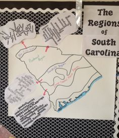 Ginger Snaps: SC Regions anchor chart
