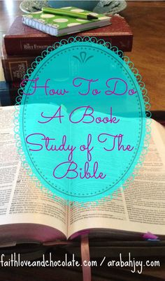 Looking to go deeper into God's word? Here are 4 steps for doing a book study of the Bible