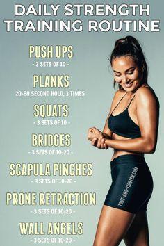 Daily Strength Training Routine