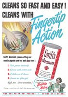 Swift's Cleanser 1950 Ad Picture