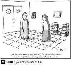 Doctors get lonely too