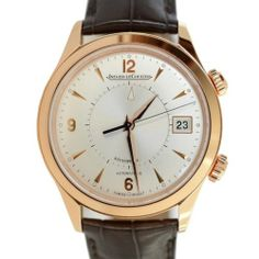Jaeger LeCoultre Master Memovox Men's Watch Authentic Pre Owned | eBay > Now available at a 26% discount.