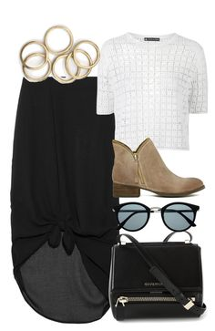 """""""Untitled #3858"""" by rachellouisewilliamson ❤ liked on Polyvore featuring Minimarket, Topshop, Jeffrey Campbell, Givenchy and Retrò"""