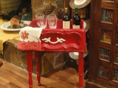 Christmas Style Table / Drawer