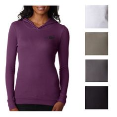 This #custom thermal hoodie is super soft and perfect for layering. #epromos.....sounds super comfy for the winter