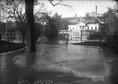(Inondations de Paris, janvier 1910) : photographie de presse / Agence Rol