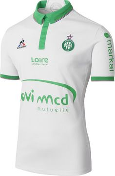 9a1ba9eb5e7 AS Saint Etienne 16-17 Away Kit Jersey   France Football Kits