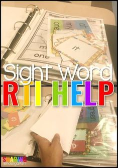 Sight Word Help - Sharing Kindergarten