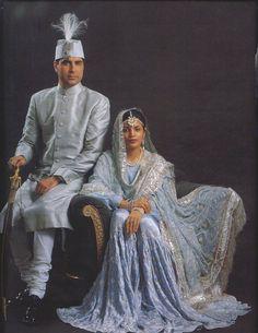 The Nawab Kazim Ali Khan of Rampur with the Begum of Rampur: Ali Khan