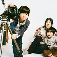 """A family portrait presented by Pentax"" <3 Josie. ~ Photo by Hideaki Hamada. Pentax 67ii"