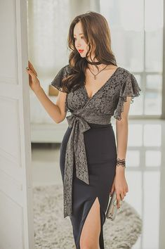 47 Elegant Outfits To Look Cool And Fashionable #dresses #fashion #vestidos #shoulderdress