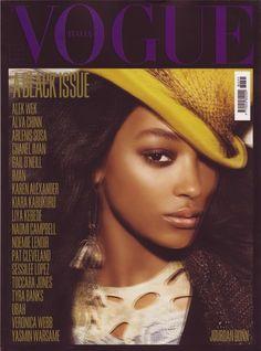 Jourdan Dunn / Vogue Italia July 2008 Covers by Steven Meisel