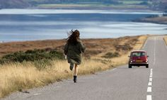 is Scottish writer/director Scott Graham's rich drama set in a petrol station in the highlands. British Isles, Running Away, Filmmaking, Character Inspiration, Scotland, Shells, Cinema, Country Roads, Clouds