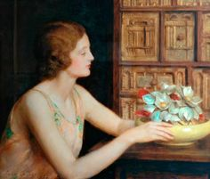 Mother of Pearl  John Maler Collier