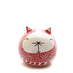 Red Gato Amulet – babasouk.ca : This friendly red cat amulet will bring love, sensitivity, passion and joy. It is not designed to be a toy because it's made of clay and it's a bit fragile...