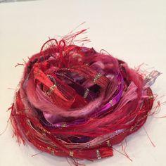 Fiber Art Mardi Grai, Embellishments, Cards, Gift Tags, Scrapbooking, Arts an Crafts by smtiffanylane on Etsy