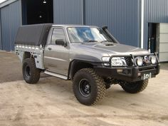 Nissan Patrol Y61, Ute Trays, Patrol Gr, 4x4 Accessories, Cool Trucks, Toyota Land Cruiser, Rigs, Cars And Motorcycles, Offroad