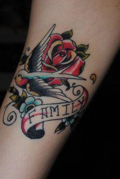 my newest tattoo, beginning of my traditional sleeve :)