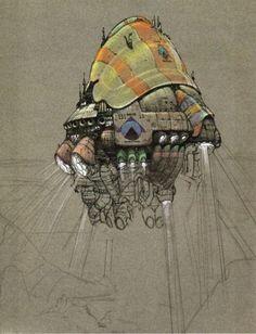 The Fifth Element: 40 Original Concept Art Gallery - Daily Art, Movie Art