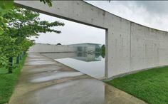 Tadao Ando LANGEN FOUNDATION Hombroich