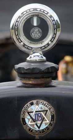 Vintage 1916 Dodge head ornament