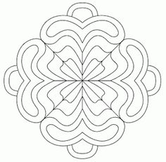 free hand embroidery pattern. I see this colored in with pastels also.