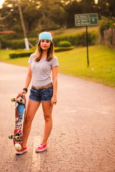 Skateboard photoshoot