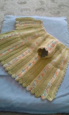 sideways knitting