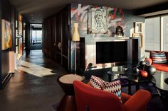 Art Collector's Penthouse - WADE WEISSMANN ARCHITECTURE