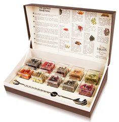 Special Touch GIN & TONIC Gourmet Set mit 10 Botanicals und Barlöffel