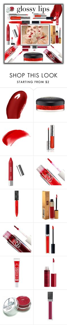 """Ultra glossy lips"" by susans-sg ❤ liked on Polyvore featuring beauty, Burberry, MAC Cosmetics, NARS Cosmetics, By Terry, Yves Saint Laurent, Christian Louboutin, Christian Dior, Charlotte Russe and Sisley"