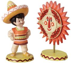 WDCC Small World Mexico 2pc Set It's A Small World Free Shipping to US 48 States | eBay