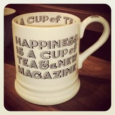 happiness - Emma Bridgewater mug
