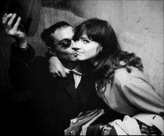 Anna Karina and Jean-Luc Godard, 1960's
