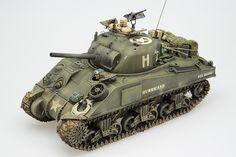 Scale 1/35 – M4 Sherman – Normandy, Summer 1944 Tamiya with Eduard PE and Modelkasten Tracks – Release Date: 1997