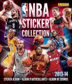 NBA Sticker Collection Album Panini 2013-2014 New + 3 Packs of Stickers!!  #Panini