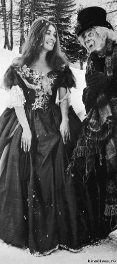 Sharon Tate - Jack MacGowran in 'the fearless vampire killers - roman polanski 1964