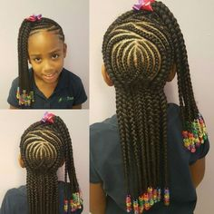 Beautiful Kids Cornrow Hairstyles For Your Girls II - DeZango Fashion Zone