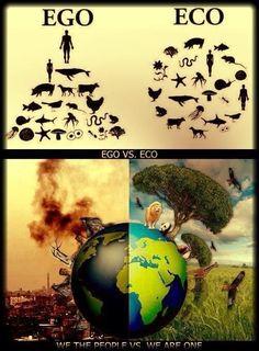 Ego - Eco - Nature vs man